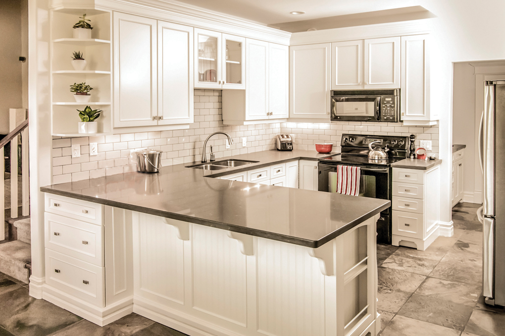 home living kitchen after garden southern decorating makeovers and kasler white before