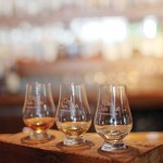 The Dam Pub in Thornbury offers house flights, which are a flight of three whiskies served on a plinth. The flights are available in different price ranges from $25 to $43 dubbed Gold, Silver and Bronze and the pub will soon be adding a Platinum flight.