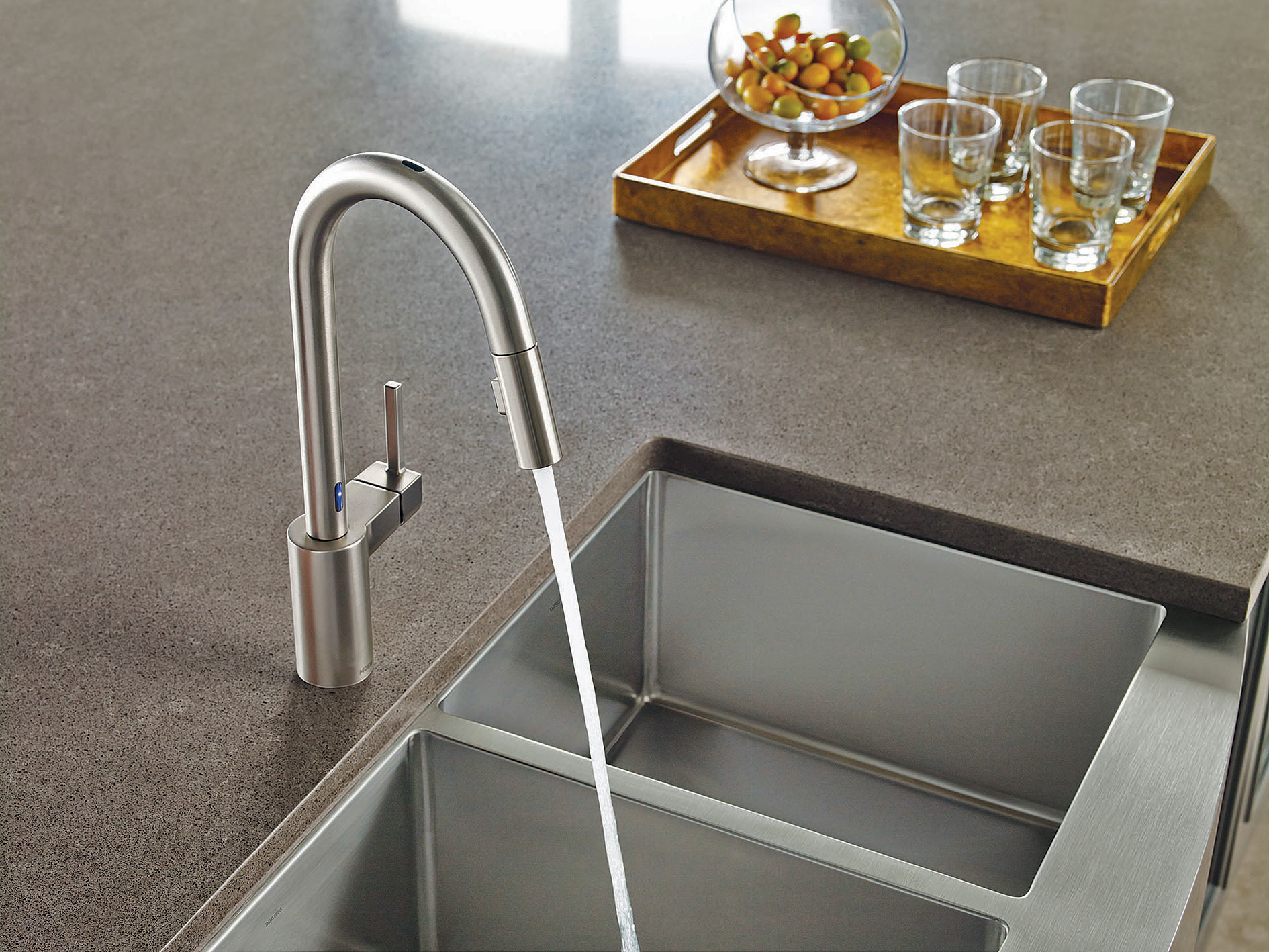kitchen faucets with touch technology ierie com cassidy single handle pull down kitchen faucet with