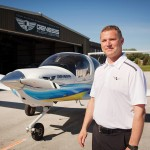 David Gascoine, pilot and president of Genesis Flight Centre, offers tours as well as flight instruction – sometimes on the same flight.