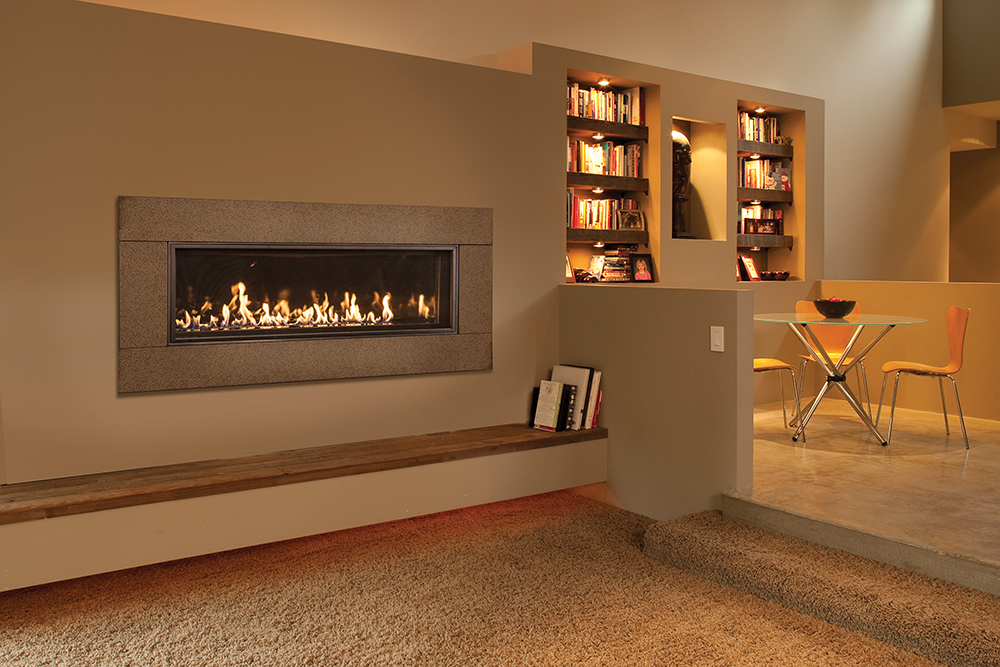 Today S Gas Fireplaces Are Going To Great Lengths Extending The Landscape Of Flame With Wide