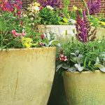 KEEP LARGE PLANTERS FROM BEING TOO HEAVY