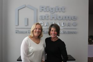 Nancy Esson and Adrienne Wood, co-owners of Right at Home Canada, Georgian Triangle.
