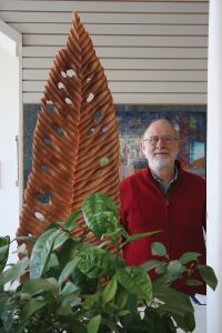 Stephen Hogbin, owner of Intersections Wood Gallery in Owen Sound.