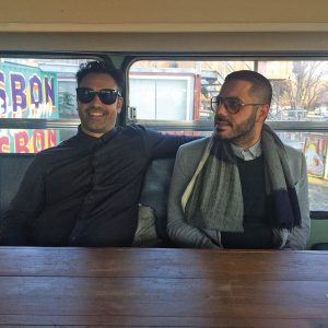 Billy Vastis and Imad Abou-Chalha, new owners of Collingwood's Tremont Café.