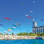 PHOTO BY DOUG BURLOCK - Kitefest, also part of Sidelaunch Days, will be held at Millennium Park August 12-13.