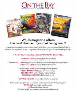 Which magazine offers the best chance of your ad being read?
