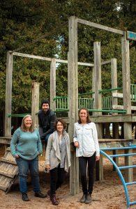 The Environment Network board, l-r: Kerri MacDonald, Lea Pankhurst, Michele Rich, Karley ONeill.