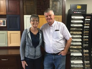 Laura and Mike Landman of South Gate Cabinets have moved to a new location in The Blue Mountains.