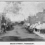 Bruce Street Thornbury - Standard Reflector Christmas 1901