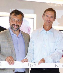 Remo Niceforo (left) and Ian Wookey of Monaco Condominiums.