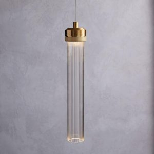 LED pendants are getting more sculptural, such as this one from West Elm.