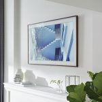 """Samsung's The Frame 4K UHD Smart TV, can be put into """"art mode"""" when the television is turned off."""